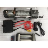 Buy cheap Off Road Handlebar Mini Winch Electric Automotive 12v 24v 8000lbs For ATV from wholesalers