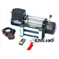 Buy cheap Steel Heavy Duty Truck Winch , 12000lbs Atv Electric WinchWith Steel Rope from wholesalers