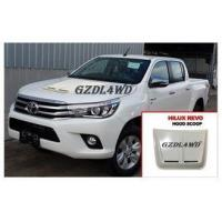 Buy cheap White Smooth Bonnet Car Hood Scoop Cover Air Vent For Toyota Hilux Revo from wholesalers