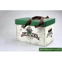 China Corrugated Paper Box for Packing Grapes on sale