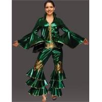 Adult Women's 70's Disco Costume - Green