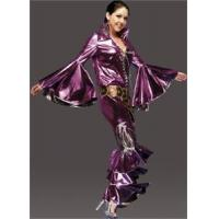 Adult Women's 70's Disco Costume - Fuchsia