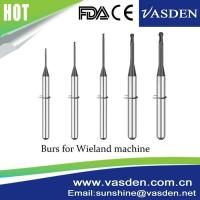 Buy cheap Compatible Wieland Carbide System Zirconia CadCam Milling Tool Dental Burs from wholesalers