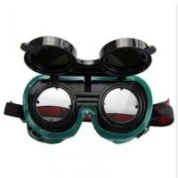 China auto darkening welding goggles Protective Safety Welding Goggles With Folding Lens wholesale