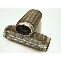 China Oval SS201/SS304 Exhaust Flexible Pipe with Inner Braid on sale