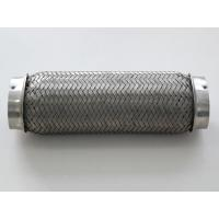 China Oval SS 201/SS304 Interlock Lined Exhaust Flexible Pipe on sale