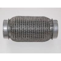 China SS304 Interlock Lined Exhaust Flexible Pipe with Mesh Braid on sale