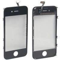 China iPartsBuy 2 in 1 for iPhone 4S (Touch Panel + Touch Frame holder ) Digitizer(Black) on sale