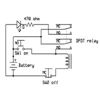 China 12 Volt Relay Wiring Diagram 5 Pole Double on sale