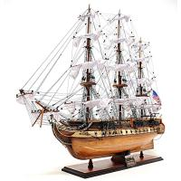 USS Constitution inlay hull Large
