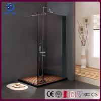 """China Frameless Walk in <strong style=""""color:#b82220"""">Shower</strong> <strong style=""""color:#b82220"""">Enclosure</strong>, Single Panel Bathroom <strong style=""""color:#b82220"""">Shower</strong> Stall,Grey Glass ,33"""" X76"""", Chrome wholesale"""