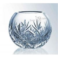 China Bowls Lead Crystal Rose Bowl Hand Cut and Personalized wholesale