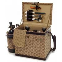 China Picnic & Beyond Estate Luxury Wooden Picnic Box for Two wholesale