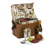 China Picnic Plus Woodstock 2 Person Picnic Basket with Insulated Cooler wholesale