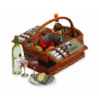 China Picnic Plus Largo 2-Person Wicker Picnic Basket wholesale