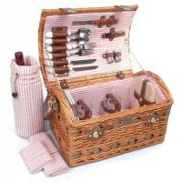China Picnic & Beyond Couture Collection - (B) 2 Person Willow Picnic Basket wholesale