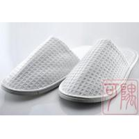 China Slipper Cotton Waffle Slipper on sale
