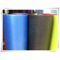 China Dark Blue Car Glitter Wrap Vinyl With Air Free Bubbles wholesale