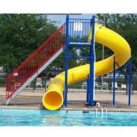 China Water Play Park Fiberglass Water Tube Slide For Swimming Pool wholesale