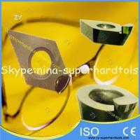China ND tools & inserts SCD natural diamond tools for ophthalmic lens on sale