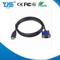 Buy cheap VGA Cable HDMI Male Type A to VGA F Male Converter Adapter 1080P HDTV Cable from wholesalers