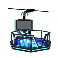 China Big Stage 9D Space Platform Virtual Reality Video Game System Exciting Game 9D Simulator wholesale