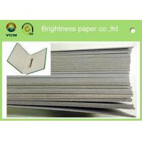China 300gsm - 3000gsm Light Grey Cardstock , Solid Laminated Grey Board Paper on sale