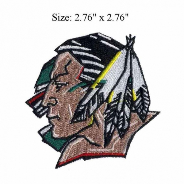 China American Sioux high quality Embroidery Badge