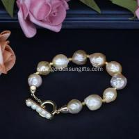 Buy cheap Online Get New Style Baroque Pearl Bracelet Jewelry from wholesalers