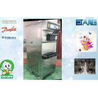 China 3 Phase High Output Soft Serve Frozen Ice Cream Machine , 50 Liters / Hour 3 Flavors on sale