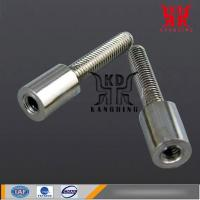 China Lathe machining Iron parts - NC Instrument parts Copper insert wholesale