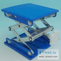 China TJ037 Manual Lab Jack, PVC Plate, Chromeplated Frame, 15 15 wholesale