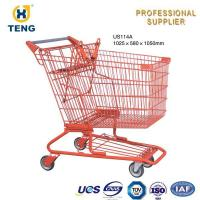 China 4 Wheel Shopping Trolley US114A 1025*580*1050mm on sale