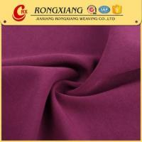 China China Suppliers Soild 4 way stretch woven polyester elastane fabric on sale