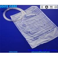 Urine bag without bottom outlet