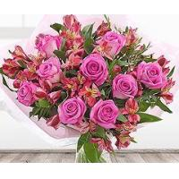 Buy cheap Flowers Perfect Pink Flower Bouquet from wholesalers