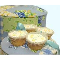 Buy cheap Bakery Floral Cupcakes in a Designer Hat Box from wholesalers