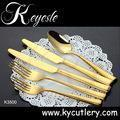 China set of cutlery stainless steel 18/10,cutlery set,gold cutlery set wholesale