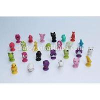 Promotiona TPR/Soft Rubber/cartoon Stikeez Figurines Mini Toys for Capsule Toy