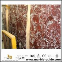 China Red Rosso Lepanto Marble Slabs For Bathroom Floor Tiles From Quarry Direct wholesale