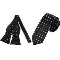 China Polka Dot Tie Or Bow Ties For Men wholesale