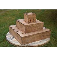 China Wood Cupcake Tower. This stand can hold more than 20 cupcakes.. wholesale