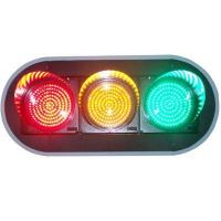 China 200mm full ball traffic light with countdown timer on sale