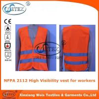 NFPA 2112 High Visibility vest for workers
