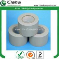Buy cheap Yellow cloth grain PVC tape for air condition from wholesalers