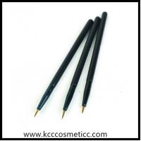 Buy cheap high end eyeliner brush with plastic handle, slim long brush from wholesalers