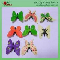 China plastic butterfly hair clips Plastic Butterfly wholesale