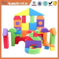 China 50pcs children educational foam EVA building block on sale
