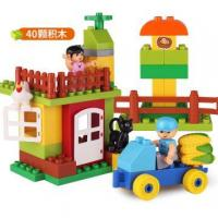 Buy cheap Wholesale Pasture Building Blocks Toys Play Set from wholesalers