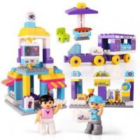 Buy cheap DIY City Theme Building Blocks Educational Toys from wholesalers